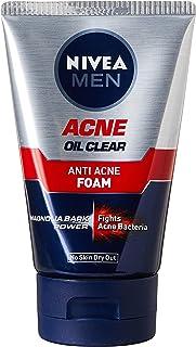 Nivea Men Face Care Cleanser, Anti Acne Oil Control Foam, 100g