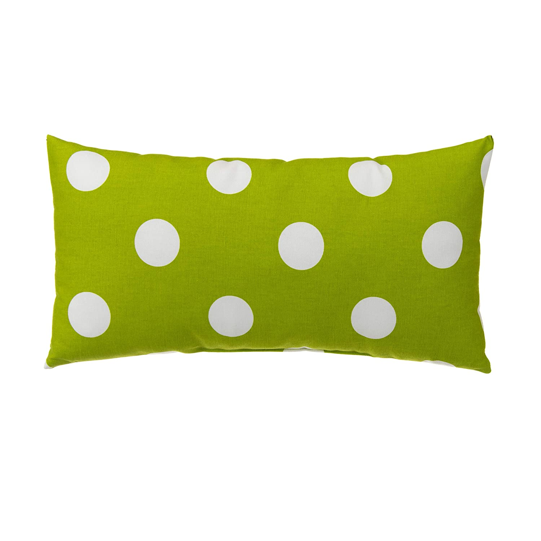 Glenna Jean Apollo Pillow, Green, Rectangle, 11 x 22 x 5 Inch