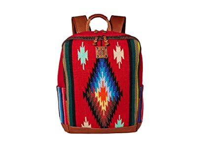STS Ranchwear Fiesta Serape Backpack (Royal Blue/Black/Red) Bags