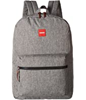 ZUBISU Cool Grey Large Backpack