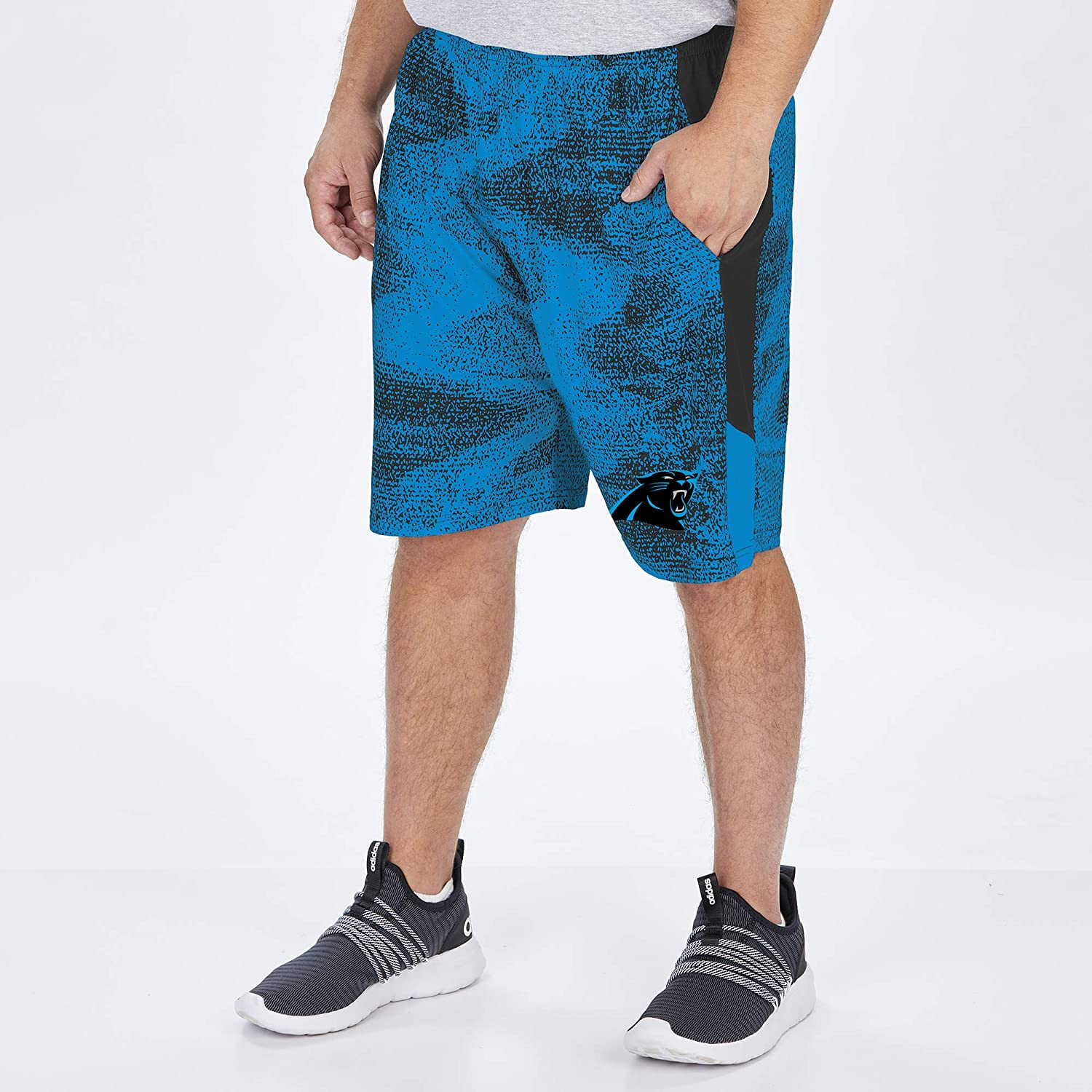 Zubaz NFL Mens Static Shorts