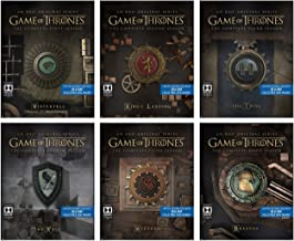 Game of Thrones The Complete Seasons 1 - 6 Limited Edition Steelbooks with Collectible Sigil Magnet [Blu Ray]