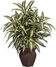 Nearly Natural 6673 30in. Aglaonema with Decorative Vase Silk Plant
