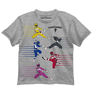 Power Rangers Little Boys Team Go T Shirt
