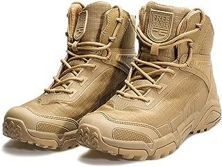 Botas de Escalada Tacticas Hombre Botas Militares Transpirables Botas de Seguridad Hombre Trabajo Ligeros Zapatos de Montaña Trekking