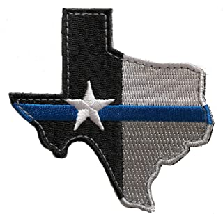 texas thin blue line patch