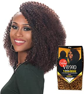 Royal Zury Synthetic Hair Crochet Braids V8.9.10 Bohemian 1Pack Enough (1B)