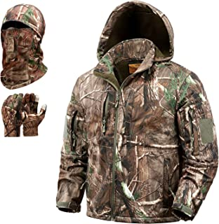 NEW VIEW Hunting Clothes for Men,Ultra-silent Water...