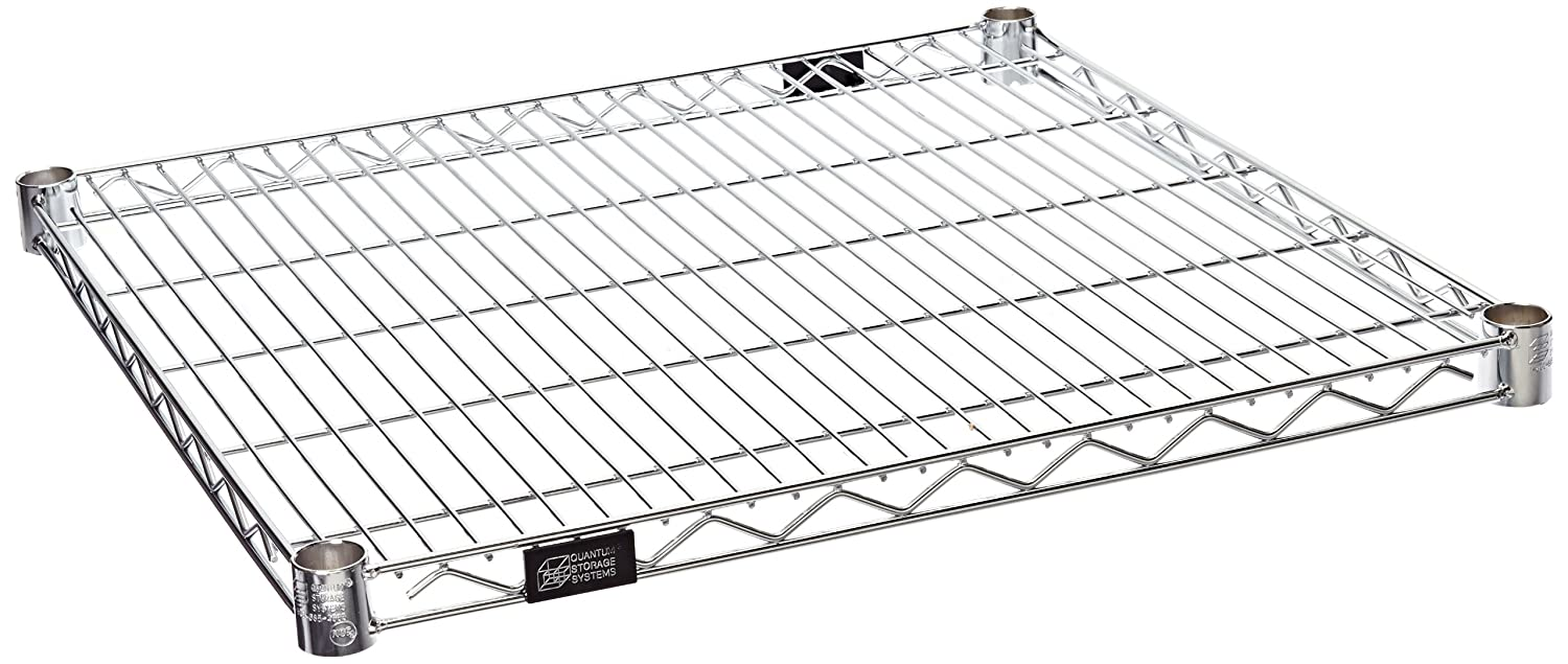 Quantum Sale Cheap mail order shopping Storage 2424C-4 4-Pack Extra Wire W Shelves Deep for 24