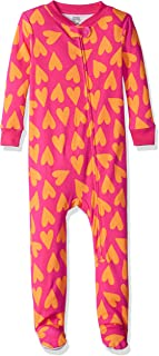 Amazon Essentials Baby Snug-fit Cotton Footed Sleeper Pajamas