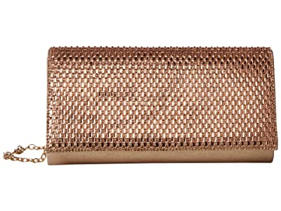 Jessica McClintock Chloe (Rose Gold) Clutch Handbags