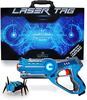 DYNASTY TOYS Kids Games Laser Tag and Robot Bug Striker Pack