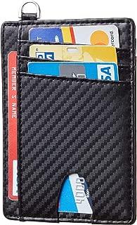 Slim Minimalist Front Pocket Wallets RFID Blocking Credit Card Holder for Men & Women