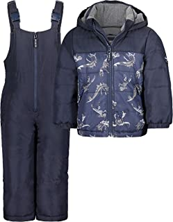 OshKosh B'Gosh Baby Boys' Ski Jacket and Snowbib Snowsuit Set