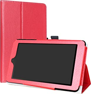 NOOK Tablet 7 2016 Case,LiuShan PU Leather Slim Folding Stand Cover for 7