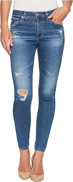 Farrah Skinny Ankle in 14 Years Blue Nile Destructed