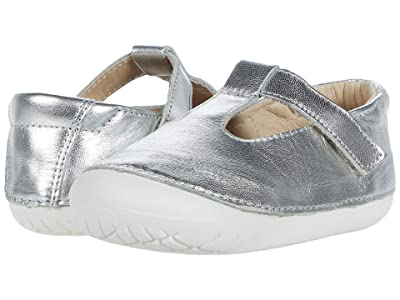 Old Soles T-2 Shoe (Infant/Toddler) (Silver) Girl