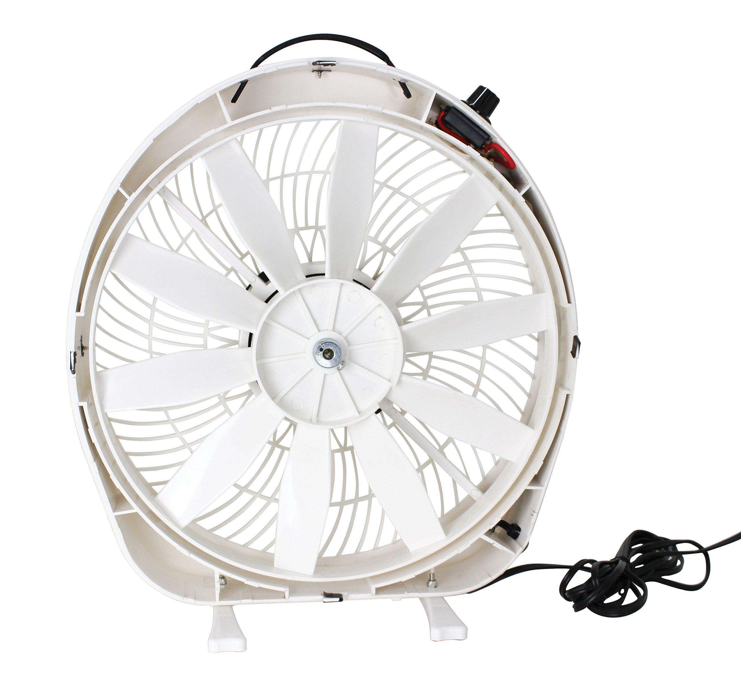 Quick Products QP-TE1-0126 Boundless Breeze Ultimate RV/Marine Fan - 12 Volt