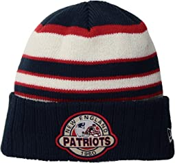 New Era - Striped Select New England Patriots