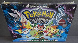 Pokemon Special Edition Champion Island DVD Board Game