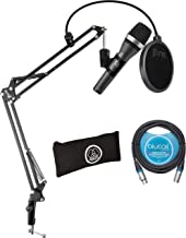 AKG D5 Dynamic Microphone for Vocals, Piano, Horns, Woodwind, and String Instrument Bundle with Blucoil 10-FT Balanced XLR...