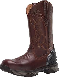 حذاء برقبة للرجال من لوكيسي عالي الأداء مقولب 30.48 سم، سهل الارتداء: أصابع قدم مركب نانو