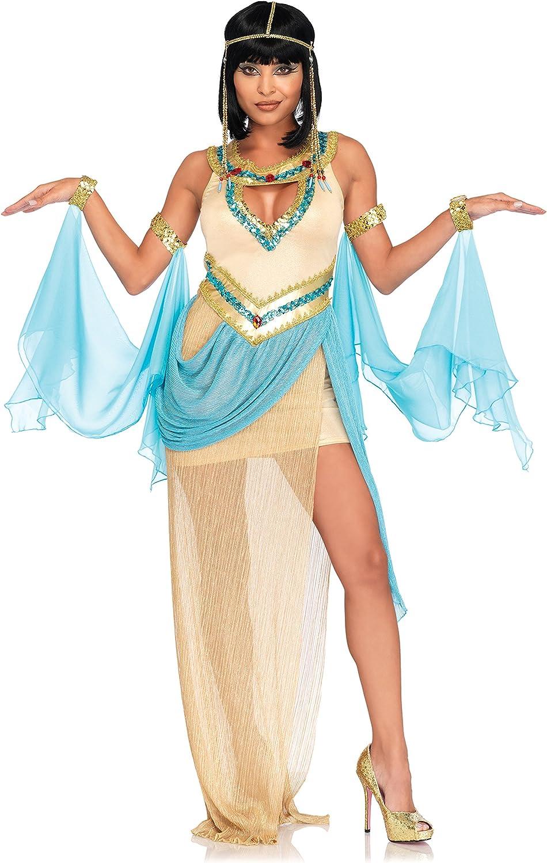 Leg Avenue 86677  Queen Cleopatra Kostüm, gold, Small (EUR 36 38)