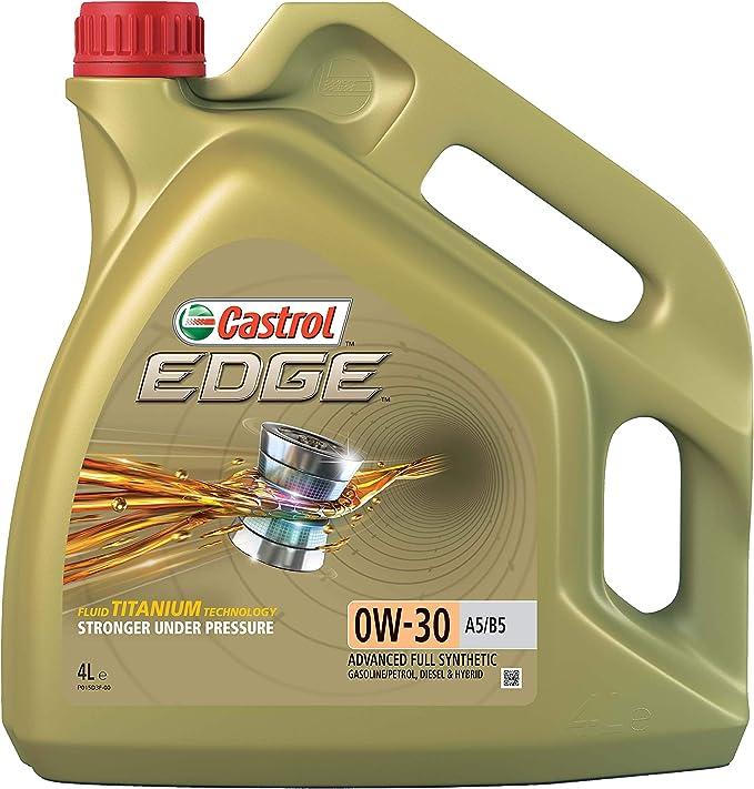 Castrol Edge Engine Oil 0w 30 A5 B5 4l Auto