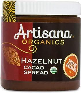 Artisana Organics Hazelnut Cacao Spread, 9.5 oz | Sweetened with Coconut Sugar