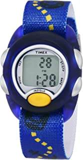 Timex Kids' T7B889 Digital Pirates Elastic Fabric Strap Watch
