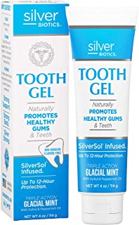 American Biotech Labs - Silver Biotics - Tooth Gel - Naturally Promotes Healthy Gums and Teeth - SilverSol ...