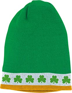 Amscan 254569 St. Patrick's Day Skull Cap, 8 1/2
