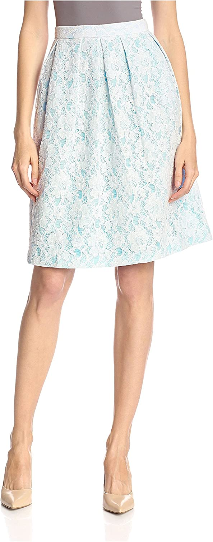 Hutch Women's Lace Jacquard Flare Skirt