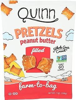 Quinn, Peanut Butter Filled Pretzels, 7 Ounce
