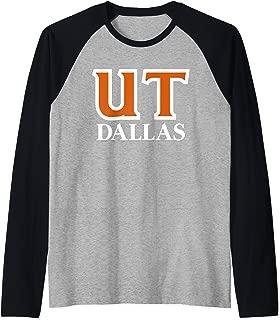 University of Texas at Dallas UT Dallas Comets NCAA RYLUTD06 Raglan Baseball Tee