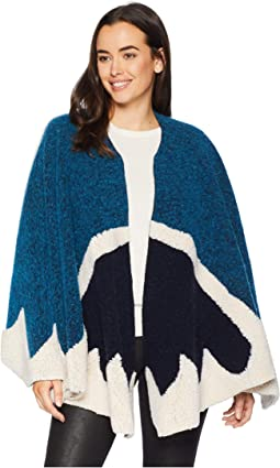Felted Knit Ruana