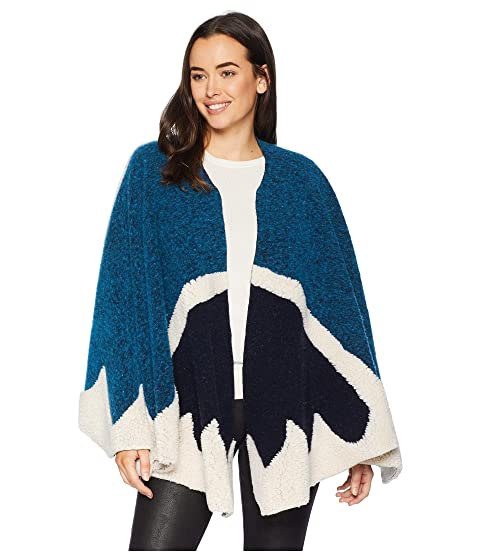 Echo Design Felted Knit Ruana At Zappos