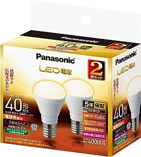 パナソニック LED電球 E17口金 電球40形相当 電球色相当(4.2W) 広配光タイプ 2個セット LDA4LGE17K40ESW22T