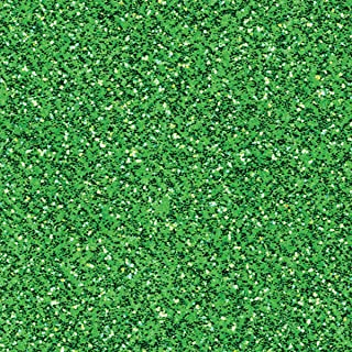 American Crafts Green Sheen Coredinations Specialty Cardstock Glitter Silk 20 Pack of 12 x 12 Inch, Large