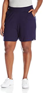 Women's Plus Cotton Jersey Pull-On Shorts