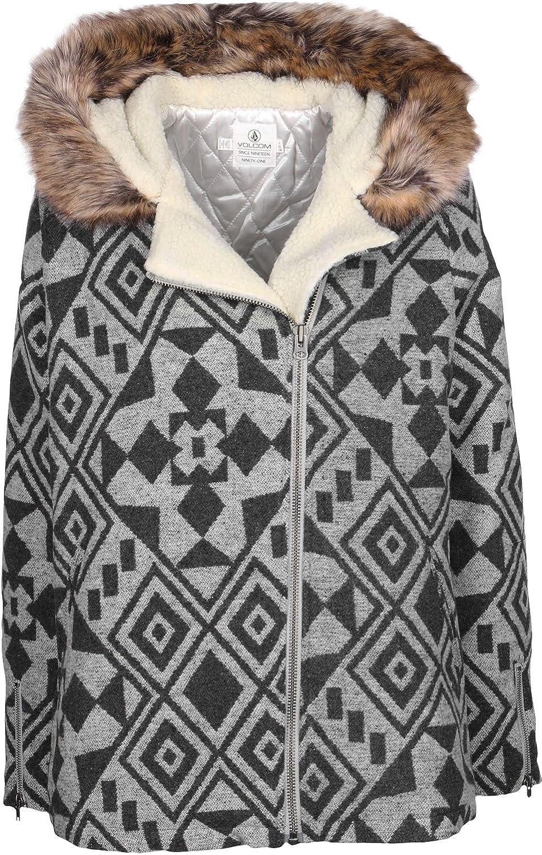 Volcom Women's Showdown Wool Mix Jacquard Jacket