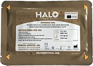 Halo Chest Seal for IFAK, 2 Seals Per Package