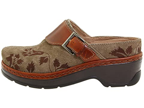Outlet Genuine Klogs Footwear Austin Taupe Suede Tapestry Cheap Best Wholesale Buy Cheap Best Seller Rqyc2OhGOQ