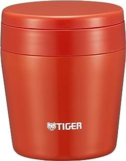 TIGER 虎牌 保温杯 真空隔热 汤罐 250ml 保温 广口 圆底 玫红色 MCL-B025-RC Tiger