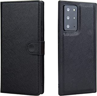 CHANROY Compatible with Galaxy Note 20 Ultra 5G(6.9 inch) Premium Ultra Thin Leather Wallet Book Flip Case with Magnetic C...