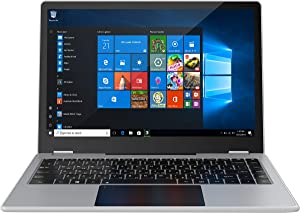"""Windows 10 Pro Laptop 13.3"""" Rugged, Full HD Touchscreen Business Notebook Computer with Intel Pentium J4205, Quad-Core 6GB DDR4, 512GB SSD, Waterproof Design AWOW"""