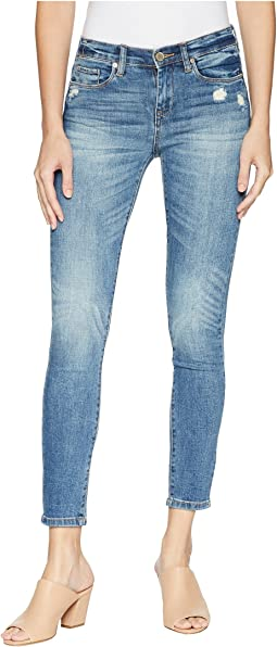 The Reade Crop Denim Skinny in Noho