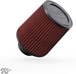 RU-2800 K/&N Universal Clamp-On Air Filter 5FLG 7H Universal Air Filters 6-1//2B 4-3//8T