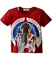 Dolce & Gabbana Kids - Dog Family T-Shirt (Infant)