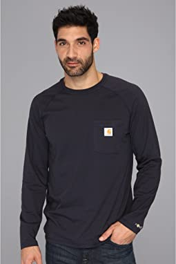 Carhartt Force® Cotton Delmont Long-Sleeve T-Shirt